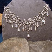 Night Sparkle necklace by LRakerDesigns
