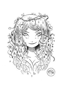 Poison Ivy Pre-SDCC Sketch by mikemaihack