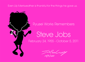RIP Steve Jobs by ryuuseipro