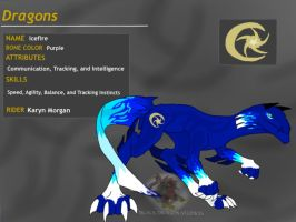 Dragon Booster:Tainted Gold-Icefyre by BlackDragon-Studios