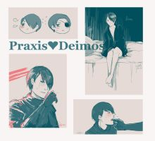 Praxis and Deimos by vampiry