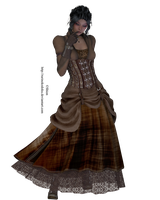 Stock: Steampunk by LadyXiahou