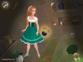 Thumbelina - Alice in Wonderland by IndyGirl89