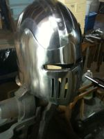 Tim's Helm - Sid view by CheshireAFox