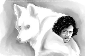 Jon Snow - 2013 April Art Jam by JeremiahLambertArt