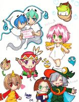Puyo doodles 2 by cafe-delight