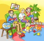 Familly by mirelai
