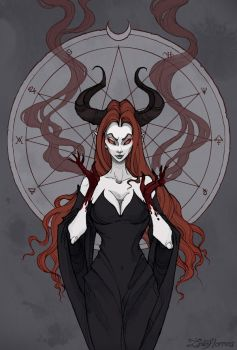 Lilith by IrenHorrors
