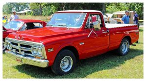A Sharp Red GMC Truck by TheMan268