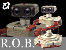 R.O.B. artwork by RoxasXIIkeys