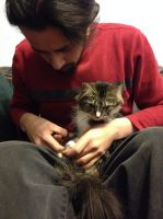 Momo Gets Her Nails Trimmed by DarlingChristie