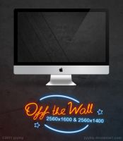 Off the Wall Wallpapers Pack by yyylny