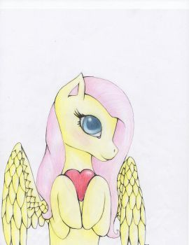 Happy valentines day! mlp fluttershy by PrinccesOfTheNight