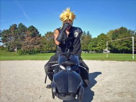 Cloud Strife Delivery service by 310322094