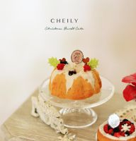 Christmas Bundt Cake by PetitDeCherries