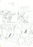 Shadow tortures Sonic by soggycereal