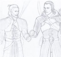 Anders and Seb quick sketch by TheTipsyFaerie