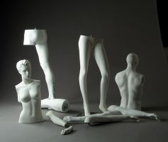 Mannequin Parts by mjranum-stock