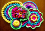 Flower Power Scrumble by Craftcove