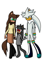 Sonic- like a family by Darkemerald4578