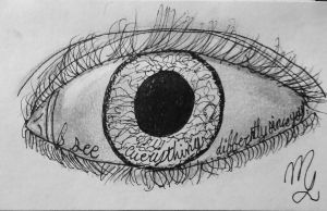 I see everything differently since you by moriahberry