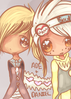 Daniel and Ade by sitsurei