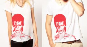 David Bowie Shirt Design by AngelicaVillegas