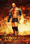 Extreme Rules 2014 Poster ~ Batista by MhMd-Batista