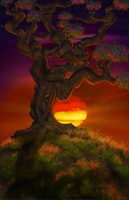 The Old Hanging Tree by talonian