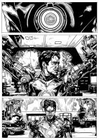 Iron Man Mark 3 Page 1 by ncajayon