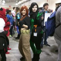 Kim Possible and Shego Cosplay by meggirl49