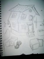 The Reoccurring Dream-The Crooked House by yaoilovr