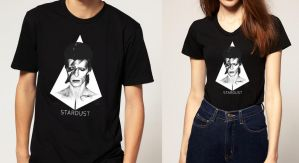 David Bowie Shirt Design 2 by AngelicaVillegas