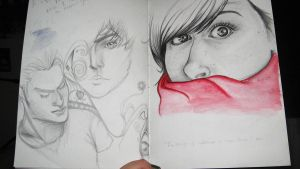 Pages from my sketch Pad pt4 by elethoniel