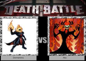 DEATH BATTLE Idea Dormammu vs Aku by JefimusPrime