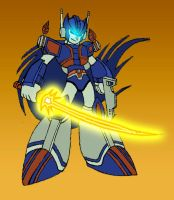Zero + Ultra Magnus colours by Transformers-Mosaic