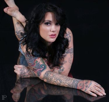 Inked Photography 3 by Atouchofasia