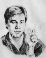Bill Hicks by DVillano