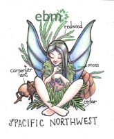 Fairies of the US- the Pacific Northwest by Deisi