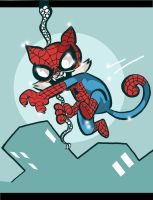 Spider Cat by JamieCosley
