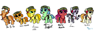 Filly Scouts by Art-Anon