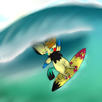 .:Comm:. *Special* Gotta Catch A Wave by MasterFishi