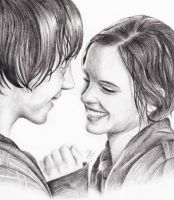 Romione/ Hermione and Ron by RomcaS