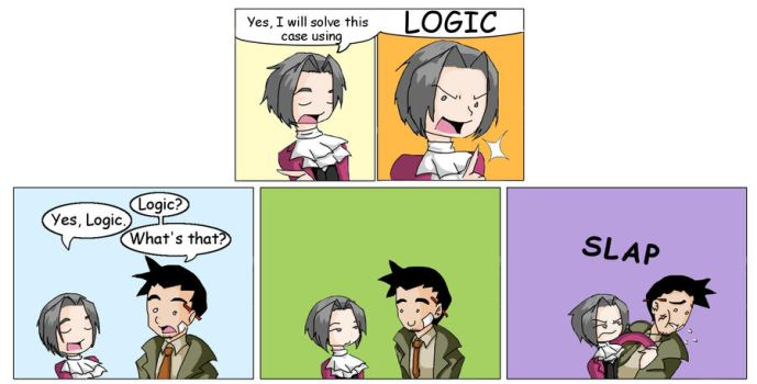 Miles Edgeworth - Logic by thatgirl255