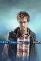 Doctor Who Card Game Rory Williams by JonHodgson