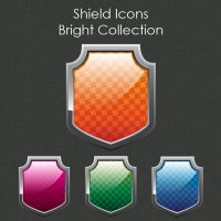 Shield Icon Set by SoftPurple