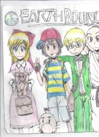Earthbound The Comic Title by OstrikerX