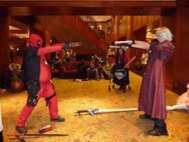 deadpool and dante cosplay by jakob-the-dragon-boy