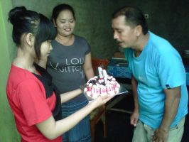 HBD Ayah by Difira