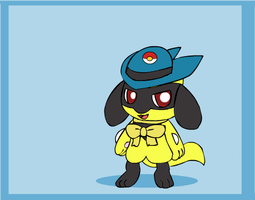 Riley's Shiny Riolu by Artrookie--yup